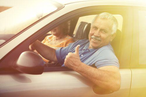 נהיגה בגיל מבוגר
